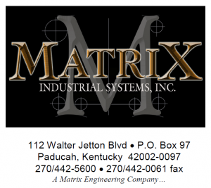 Matrix Industrial Systems Logo & Address